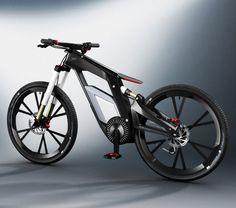 Audi e-bike lets you control riding modes via smartphone
