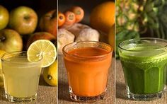 Fruit and vegetable drinks