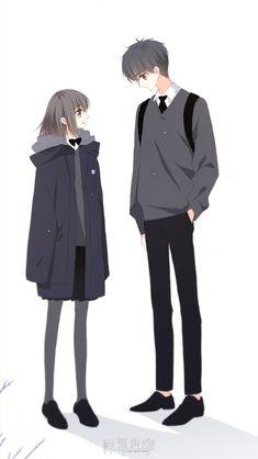Love Never Fails Manga Anime Chibi, Anime Cupples, Chica Anime Manga, Kawaii Anime, Anime Couples Drawings, Anime Couples Manga, Cute Anime Couples, Anime Love Couple, Anime Couples