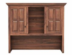 Woodley Brothers Furniture -  Coal Creek Home Office 62 Hutch - Shown with wood doors also available with glass doors
