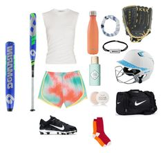 """""""I can't do softball this year """" by zyon-d ❤ liked on Polyvore featuring NIKE, Louisville Slugger, Alexander Wang, S'well, EASTON, Capelli New York, Journee Collection, Benefit, Fresh and Paul Smith"""