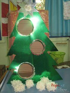 Χριστουγεννιάτικα παιχνίδια με γονείς Christmas Mood, Christmas Games, Christmas Projects, Christmas Ideas, Diy And Crafts, Kindergarten, Bird, Create, Winter