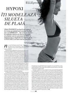 Elle Romania, mai 2012 #Hypoxi #HealthySkin Page Layout, Romania, Healthy Skin, Swimwear, Inspiration, Fashion, Bathing Suits, Biblical Inspiration, Moda