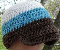 Working on newborn size boy hats for friends having babies! Maybe I'll attempt bigger ones for the boys too!