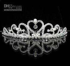 Wholesale swan lake princess style bridal wedding crystal tiara amp;headpiece crown rhinestone diamantie unique, Free shipping, $34.66/Piece | DHgate Mobile  http://m.dhgate.com/product/swan-lake-princess-style-bridal-wedding-crystal/120658898.html#pd-002