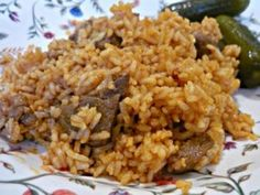 Hungarian Cuisine, Hungarian Recipes, Hungarian Food, Meat Recipes, Recipies, What To Cook, Fried Rice, Delish, Side Dishes
