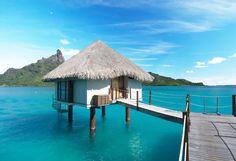 mauritius beach hut
