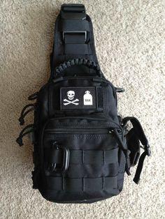 Pics Of your edc Bag! Rucksack Backpack, Hiking Backpack, Oakley Backpack, Thigh Bag, Edc Bag, Phone Holster, Tac Gear, Tactical Bag, Shoulder Sling