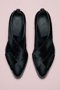 Style.com Accessories Index : Fall 2014 : Proenza Schouler WOMEN'S FLATS http://amzn.to/2jETOMx