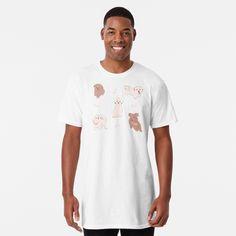 T-shirt long 't-shirt fun take a breath' par Meschac T Shirt Fun, My T Shirt, V Neck T Shirt, Loose Fit, T-shirt Couple, Original Design, Mode Shop, Leggings, Tshirt Colors
