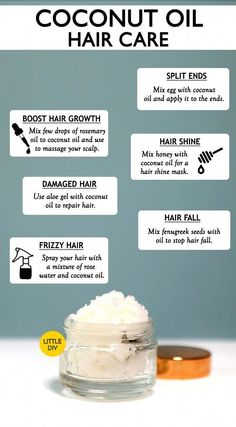 Coconut oil for hair benefits and uses little diy unwantedhaironchinbenefits coconut diy hair oil unwantedhaironchin how to make coconut oil soap Hair Health And Beauty, Hair Beauty, Diy Hair Care, Healthy Hair Tips, Healthy Hair Remedies, Unwanted Hair, Unwanted Facial, Hair Conditioner, Grow Hair