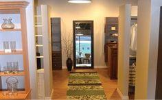 Hallway At The Vermont Custom Closets Showroom In Williston, Vermont.
