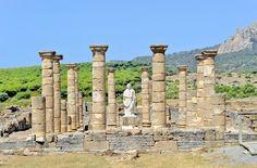 Ancient Roman town of Baelo Claudia.
