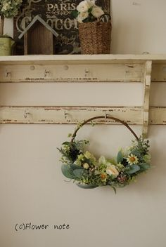 Notes, Wreaths, Flowers, Home Decor, Report Cards, Decoration Home, Door Wreaths, Room Decor, Notebook