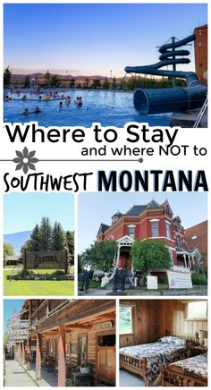 Planning a trip to southwest Montana? Or maybe you're passing through on your Yellowstone vacation. These are the hotels where I stayed, plus the one I recommend you avoid! via @stuffedsuitcase