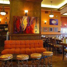 smartlook music art in cafe interior