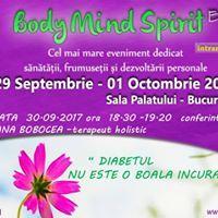 Conferinta  Diabetul NU ESTE O BOALA Incurabila Bucharest
