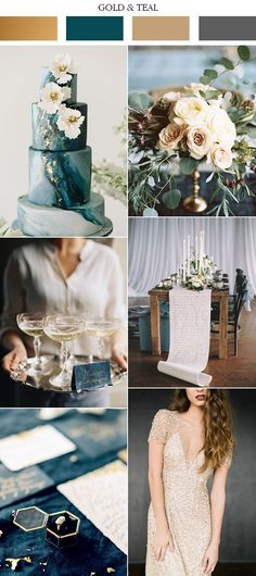 The style of the wedding is a big aspect of choosing the wedding color scheme, striking an upscale tone with a chic wedding color palette. A delicate combination of champagne, ivory pearl and gold would be just the thing for a formal afternoon wedding. A little bit vintage mixed with hint of modern, completely stylish,Read more
