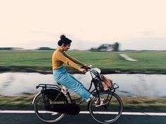 """caseykaui: """" My last bike ride in amsterdam, after afternoons in the city, it was always magic ending the evening riding through the northern countryside and falling asleep on the farm. """" My beautiful Casey! Fotos Goals, Amsterdam, Life Is Good, Photoshoot, In This Moment, Adventure, People, Pictures, Inspiration"""