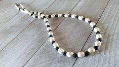 Excited to share the latest addition to my #etsy shop: Men's Black White Necklace, White Magnesite, Black Lava Stone, Men's Fashion, Lava Beads, Imitation Turquoise Beads, White Turquoise, Surfer http://etsy.me/2COVooG #jewelry #necklace #white #barreltorpedo #gemstone