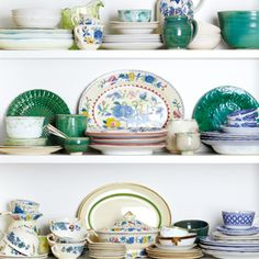 There's such pleasure in building a collection of tableware - Annabel Langbein Kitchen Inspiration, Kitchen Ideas, Kitchen Design, Cooking Tv, Black Barn, Kitchenware, Tableware, Green Table, Dinner Ware