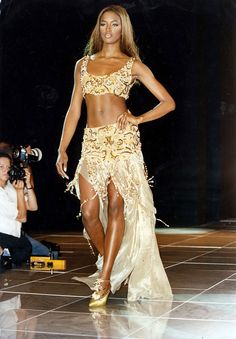 Naomi for Versace, s/s 1992