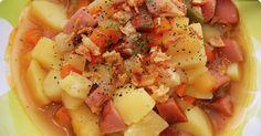 Makkarakeitto Fruit Salad, Pasta Salad, Cantaloupe, Potato Salad, Potatoes, Ethnic Recipes, Food, Crab Pasta Salad, Fruit Salads