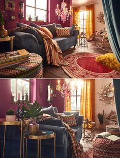 Als echter Bohemian hilft gegen dein Fernweh nur eins: Ein individuelles und buntes Zuhause mit Einflüssen aus der ganzen Welt! Ob romantisch mit Schaukelstuhl und Kerzenständer oder mit Ethno-Elementen wie dem Sitzhocker oder der Pendelleuchte – mach es dir gemütlich!