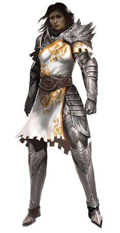 Female Seraph concept for Guild Wars 2
