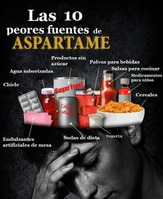Aspartamo: Efectos secundarios