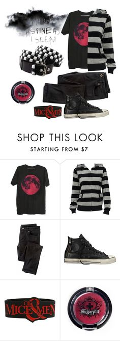 """insert witty emo title here"" by phieo-thundersnow ❤ liked on Polyvore featuring Wrap and Converse"