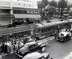 Catching the Red Car, Hollywood and Highland, 1945.