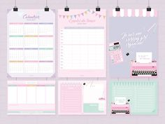 20 ideas to decorate your notebooks ideas to decorate your notebooks ideas to decorate school notebooksDIY decorated notebooks ideas and handicraftsA notebook Dr.Back to School # 01 - Ton Kit Planning à Back To School Highschool, Diy Back To School, Diy Decorate Notebook, Organisation Planner, Diy Pour La Rentrée, School Agenda, Binder Cover Templates, Blog Planner Printable, Back To School Organization