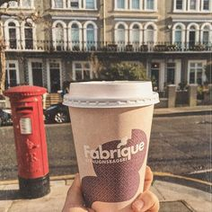 Best hot chocolate in the city @fabriquebakery
