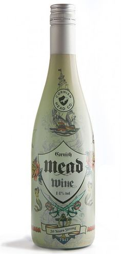 Cornish Mead started producing Mead inspired drinks in Try traditional Mead wine & smooth fruit flavoured Meads. Try a mead drink today Mead Drink, Honey Mead, Honey Wine, Wine Sale, Bee Theme, English Food, Recipes From Heaven, Bottle Design, Wine Country