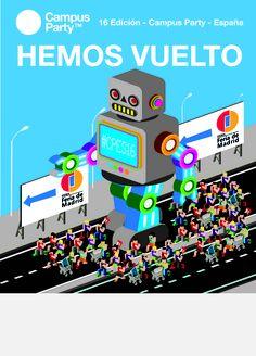 Pedro Murillo, autor del cartel ganador del reto #cpescreativity