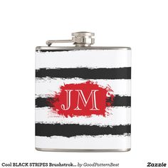 Make heads turn as you show off your Black flask from Zazzle.