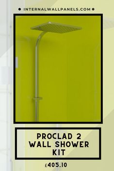 Proclad Premium Lime panels are exceptionally hardwearing because they have a solid core with the colour running right through the entire product. They are an excellent alternative to wall tiles for in high wear situations. Shower Wall Kits, Shower Wall Panels, Base Trim, Shower Cubicles, Wall Tiles, Core, Alternative, Sink, Colour