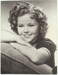 Shirley Temple Photograph. Larger Vintage Photo from curioshop on Ruby Lane