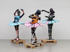 © Folkert de Jong, The Practice, 2010, Courtesy Andre Simoens Gallery, Knokke, Brand New Gallery, Milan, Gemeentemuseum, La Haye.