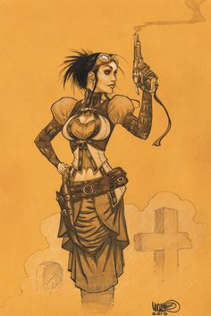 Lady Mechanika by MicahJGunnell on DeviantArt