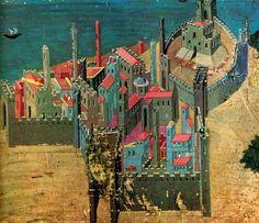 Ambrogio Lorenzetti | City on the sea