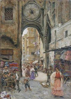 Vincenzo Migliaro (1858-1938) - Arco di Sant Eligio a Napoli