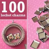 100 Pack Mini Square Photo Charms For Floating In Your Glass Lockets Pendant Set, Pendant Jewelry, Jewelry Box, Locket Charms, Locket Necklace, Mini Photo, Square Photos, Photo Charms, Photo Jewelry