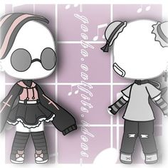 Bad Girl Outfits, Couple Outfits, Club Outfits, Manga Clothes, Drawing Clothes, Cute Anime Character, Character Outfits, Chibi, Clothing Sketches