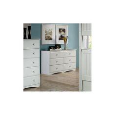 Camaflexi Essentials 6 Drawer Double Dresser | Wayfair | $341.58
