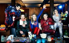 #PowerTrio #TheFlash #Arrow #Supergirl ❤