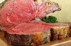 Hickory-Smoked prime rib recipe. I am trying this tomorrow! Don't bother me….I will not be available…sorry LOL!