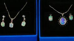 ON VIDEO See 6 Sets Opal Pendants/Earring sets to by AmyKJewels