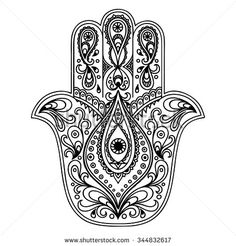 Zentangle vector Hamsa Hand for adult anti stress coloring pages Hamsa Drawing, Henna Drawings, Hand Coloring, Coloring Pages, Adult Coloring, Hamsa Tattoo Design, Hamsa Design, Faith Tattoo On Wrist, Dragon Tattoo Back Piece